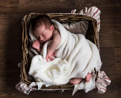 Sesión de recién nacido José Manuel