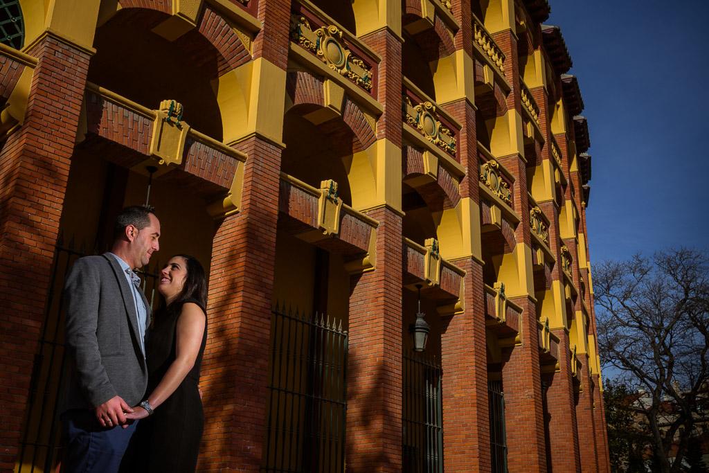 Fotografo en el Casco Viejo de Zaragoza