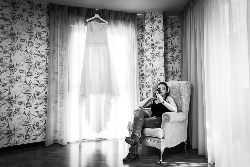 Fotografía de boda hotel balneario Serón.