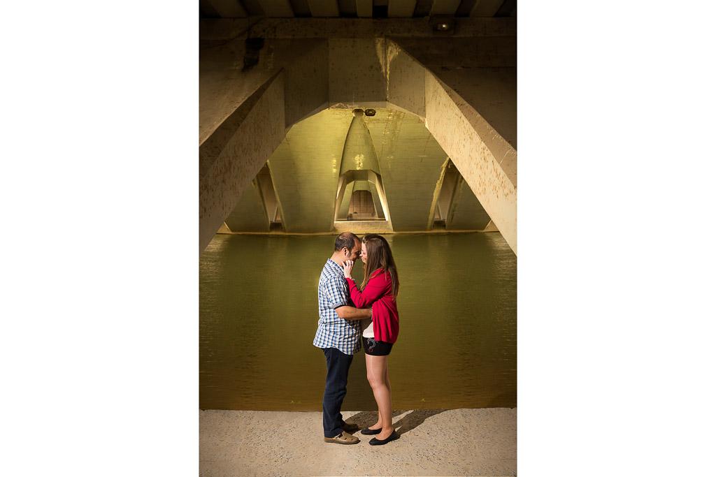La simetría de un puente