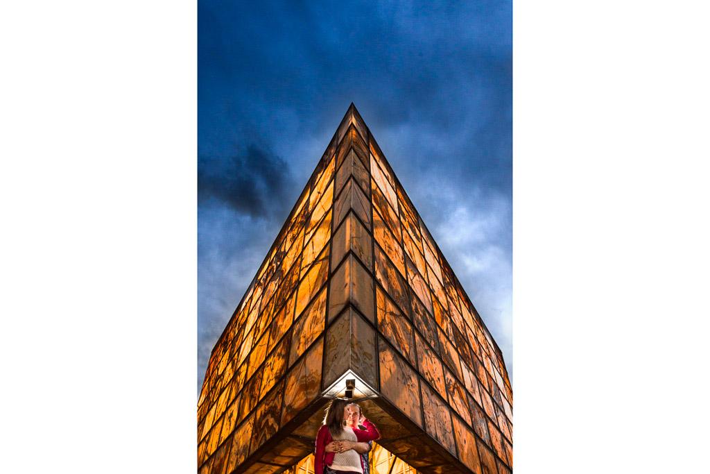 Una arquitectura con muchos contrastes